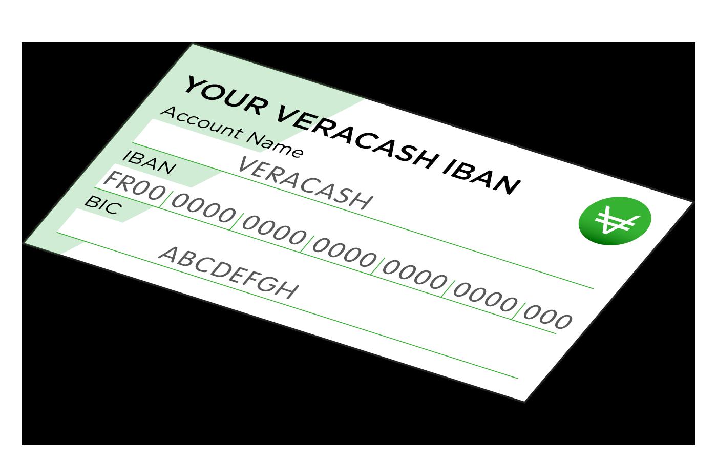 VeraCash IBAN