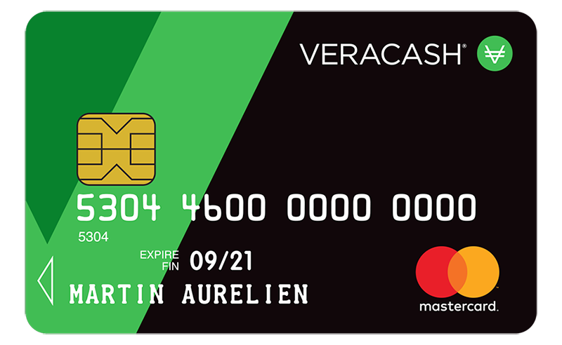 VeraCash Mastercard