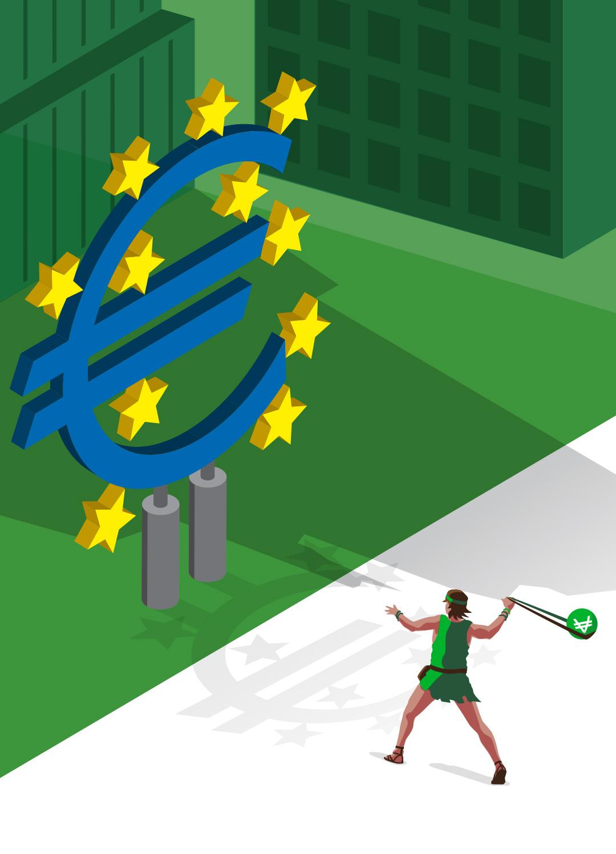 David against the European Central Bank